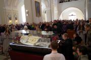 Šv. Jono Bosko relikvijos Molėtuose